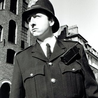 As the English Bobby for Hollywood producer, David Zucker. Filmed by Chelsea Fire station and Trafalgar Square.
