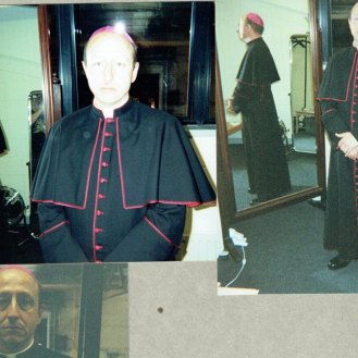 """2005 at costume fitting for """"The Da Vinci Code"""" in Middle Temple, London"""