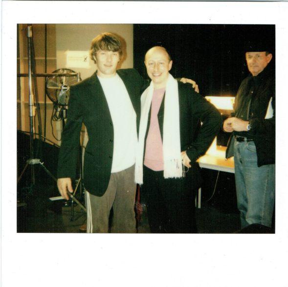 2005: with Joel Edgerton and producer, Nick Barton.