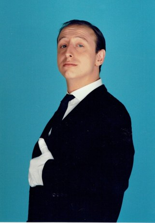 1987 - portrait of 'Hopkins'. Closing credits photo